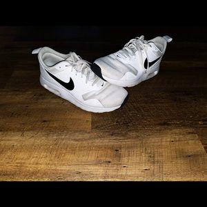 White Nike Air Maxs